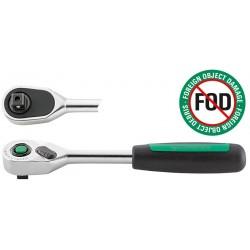 Leva a cricco QuickRelease con dentatura fine - 435QR N - Lmm 193