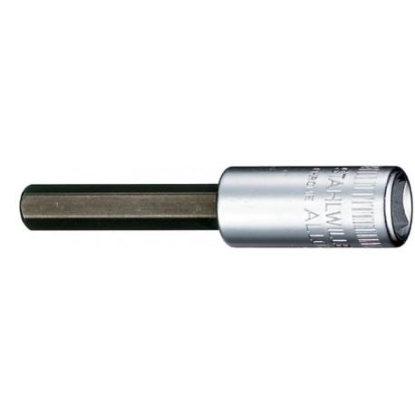 """Chiavi a bussola INHEX - 44a - Spezione esagono per viti con cava """" ¼"""