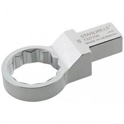 Chiavi ad anello ad innesto - 732/100 - Apertura bocca mm 24