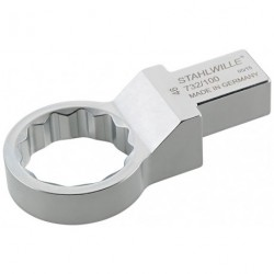 Chiavi ad anello ad innesto - 732/100 - Apertura bocca mm 36