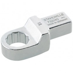 Chiavi ad anello ad innesto - 732/40 - Apertura bocca mm 19