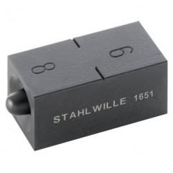 "Punzoni di bordatura - 1651 - mis. 6+8 mm+¼+5/16"""