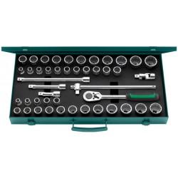 """Assortimento di chiavi a bussola ½"""" Quadro - 50ma/39/6N - Peso g 9020"""