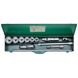 "Assortimento di chiavi a bussola 1"" Quadro - 60/6/6/882 - Peso g 19720"
