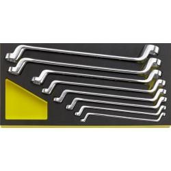 Chiavi poligonali doppie in termoformato TCS - TCS 20/8. 6x7–19x22 mm MF - Peso g 1400