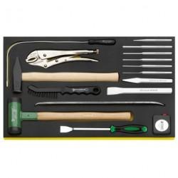 Martello. scalpello ecc. in termoformato TCS - TCS 102–108/10957/10960/16 - Peso g 3715