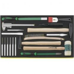 Martello. scalpello ecc. in termoformato TCS - TCS 102-108/10956/10960/18 - Peso g 3653
