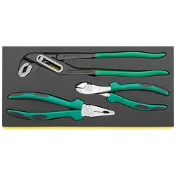Assortimento pinze in termoformato TCS - TCS 6501-6602/3 - Peso g 1125