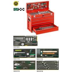 Assortimento Line Maintenance in cassetta portatile n. 13216/4 - 13214a - Peso kg 27.2