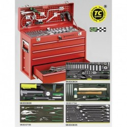 Assortimento Line Maintenance in cassetta portatile n. 13216/4 - 13214 - Peso kg 27.5