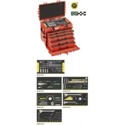 Assortimento Line Maintenance in trolley portautensile n. 13217 - 13214a WT/LR - Peso kg 27