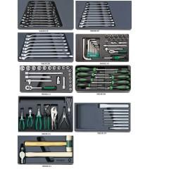 Assortimento utensili - 808/9 - Peso kg 11.7