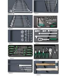 Assortimento utensili - 806/10 - Peso kg 14