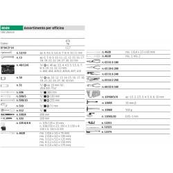 Assortimento per officina - 804N - Peso kg 12.7