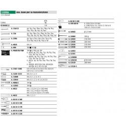 Ass. base per la manutenzione - 13205a - Peso kg 7.8