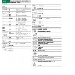 Ass. per componenti elettronici in valigetta n. 13209 - 13210 - Peso kg 10.7