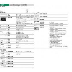 Assortimento per elettricisti - 3027 - Peso kg 6.3