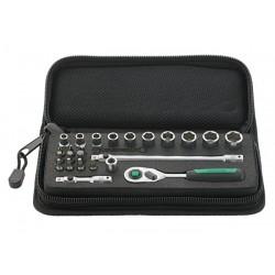 """Assortimento di chiavi a bussola ¼"""" Quadro - 40/20/4 SCI - Peso g 565"""