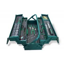 Set 71 utensili in TCS e cassetta metallica Art. 446/71