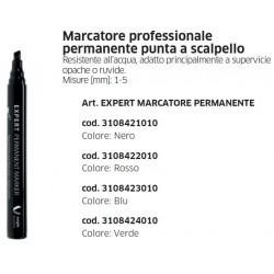 Marcatore professionale permanente punta a scalpello EXPERT MARCATORE PERMANENTE