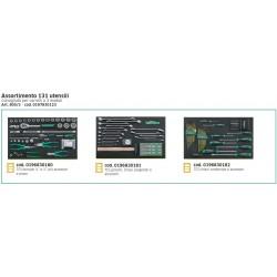 Assortimento utensili per autofficina - 131Pz - 805/3