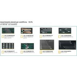 Assortimento utensili per autofficina - 93Pz - 806/19B