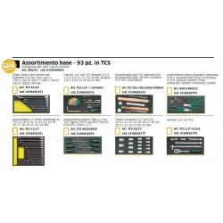 Assortimento 98 utensili Stahlwille in termoformato 806/98
