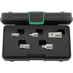 Set 5 adattatori 5513 in valigetta - Peso g - 648 -