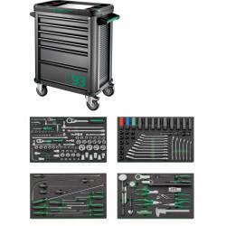 TTS93 - Set di attrezzi con carrello portautensili n. 93/168QR