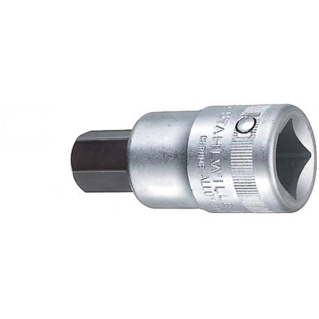 Chiavi a bussola INHEX - 59 - Spezione esagono per viti con cava mm 17