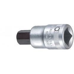 Chiavi a bussola INHEX - 59 - Spezione esagono per viti con cava mm 22