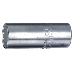 Chiavi a bussola - 40DL - Apertura bocca mm 12